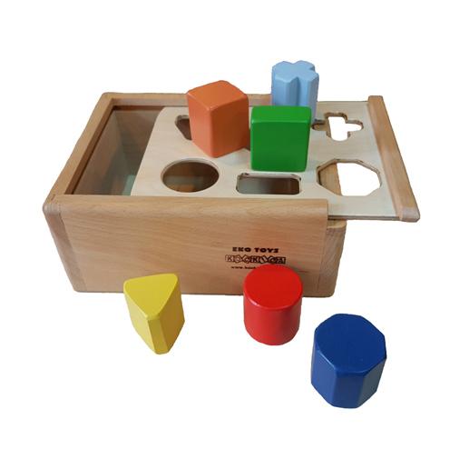 Kutija sa geometrijskim tijelima 1+