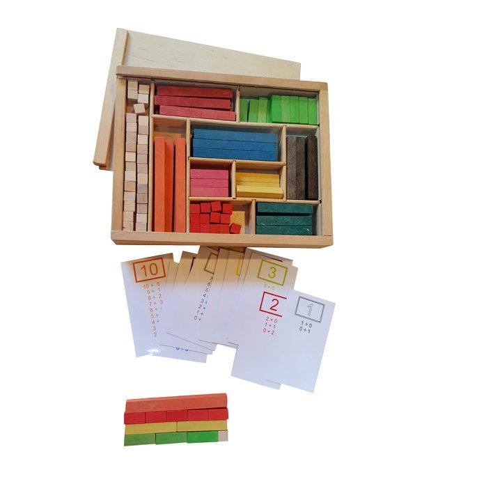 Matematičke Palice u Drvenoj Kutiji 5+