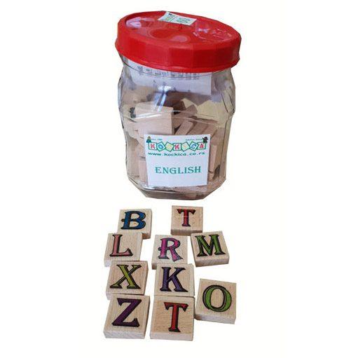 Engleska slova 60 komada u plastičnoj ambalaži 3,5+