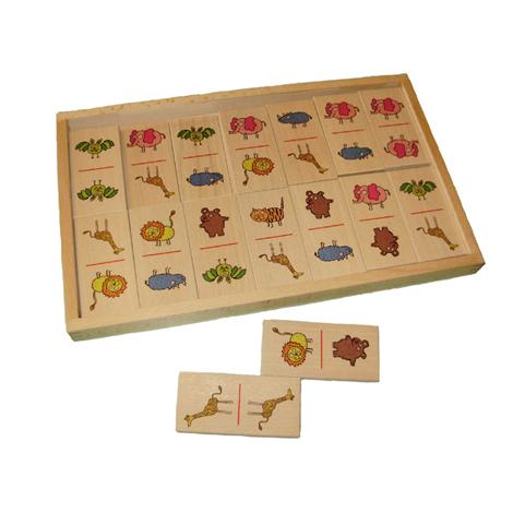 Domine u Drvenoj Kutiji – Divlje Životinje 28 komada 3,5+