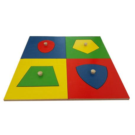 Geometrijske ravni -miješani oblici 1+